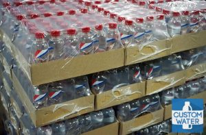 packed water