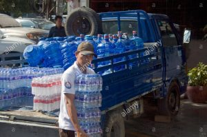 bottled water supply