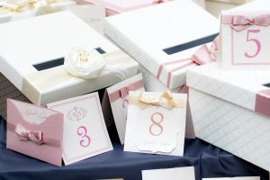 pink wedding cards